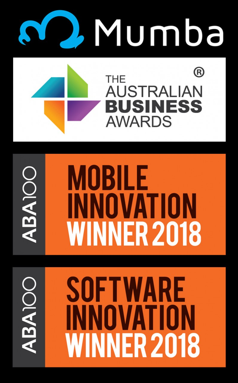 Mumba Wins Australian Business Awards 2018 for Mobile & Software Innovation